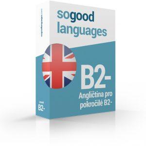 Angličtina pro pokročilé B2-