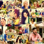 46246685 – diversity college student digital devices teamwork concept