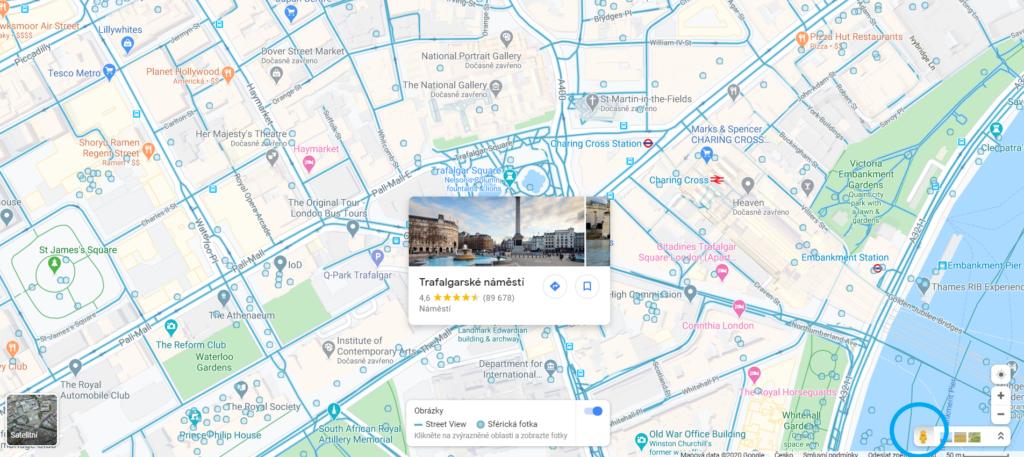 Připravte svou angličtinu na cesty z pohodlí domova: projděte si Google mapy